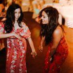 девушка танцы